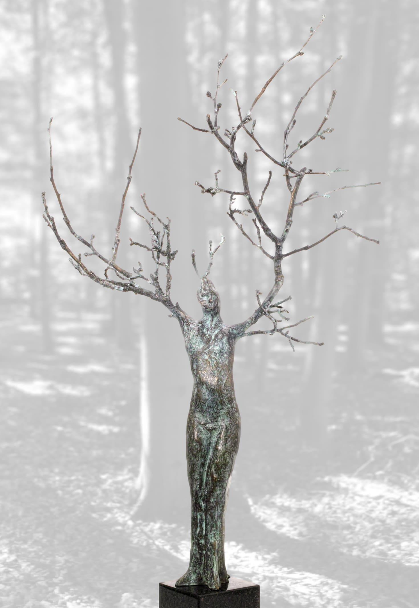 Bronze-Skulptur-Daphne
